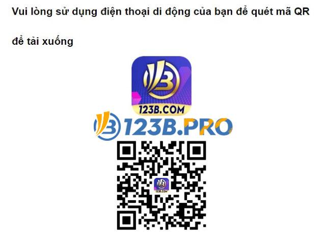 Tiến hành tải 123B app